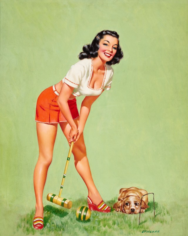 Croquet Player