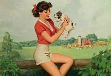 Дівчина з ферми