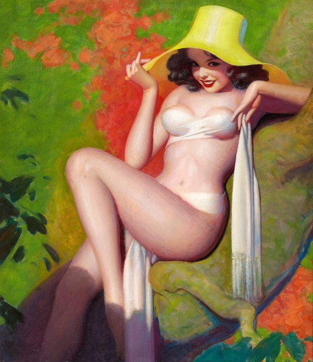 Spicy Pulp Pin-up Cover