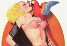 Дама з папугою