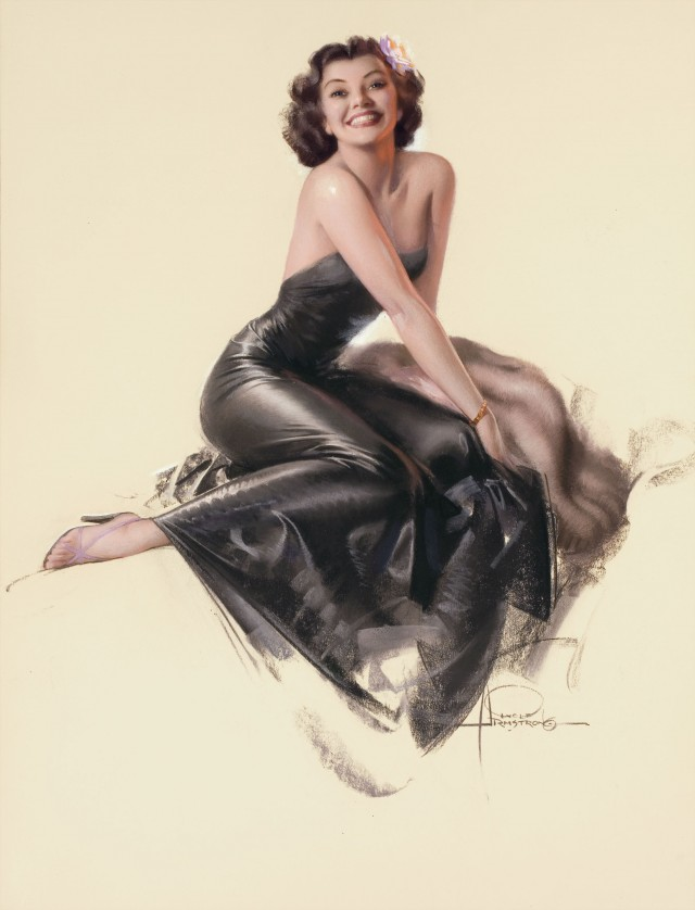 Pin-Up in Black